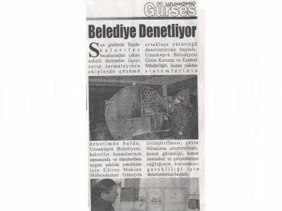 belediye denetliyor 12 01 2011 uzunkopru gurses gazetesi tmmob makina muhendisleri odasi