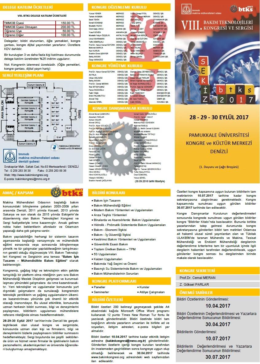 Bakım Teknolojileri Kongresi ve Sergisi (Denizli)