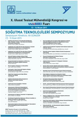 Teskon2011 programı yayınlandı